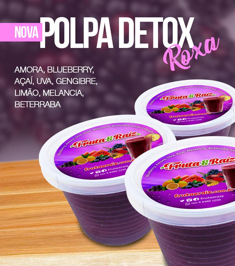 Polpa Detox Roxa